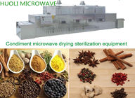 Conveyor Belt Microwave Drying Equipment / Tea Microwave Dryer ISO CE
